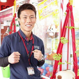 楽市楽座 熊本インター店 福原さん、 WBO暫定王座戦へ。地元熊本で世界初挑戦!