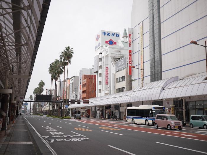 宮崎の街中