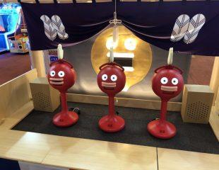 楽市楽座イオンモール筑紫野店にビッグクラッピーが!?