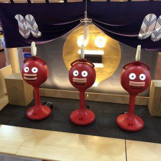 楽市楽座イオンモール筑紫野店にビッグクラッピーが登場!