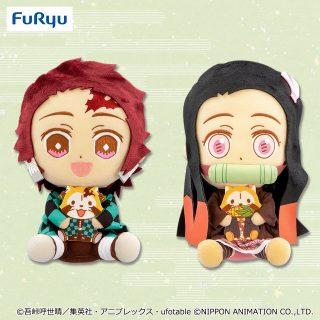 鬼滅の刃×ラスカルコラボBIGぬいぐるみVol.1