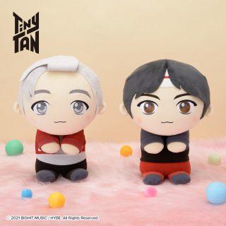 """TinyTAN& you SPぬいぐるみ""""RM&Jin""""  [プライズ情報]"""