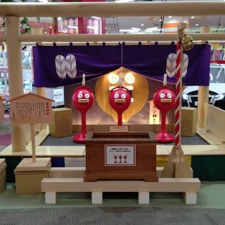 5月20日より楽市楽座イオンモール福津店に話題の神社建立‼️