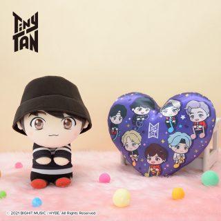 "TinyTAN& y♡u SPぬいぐるみ""Jung Kook&TinyTAN""  [プライズ情報]"