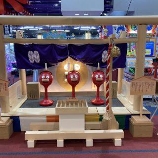 6月24日より、楽市楽座イオンモール土浦店に、話題の楽市神社建立しました❗️